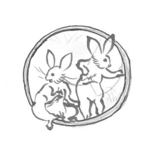 丸紋鳥獣戯画