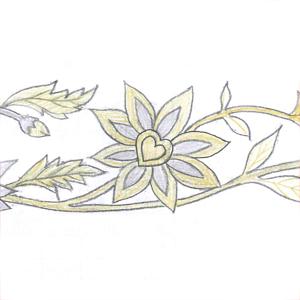 更紗紋(2)